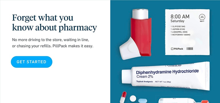 Amazon begins direct marketing of PillPack