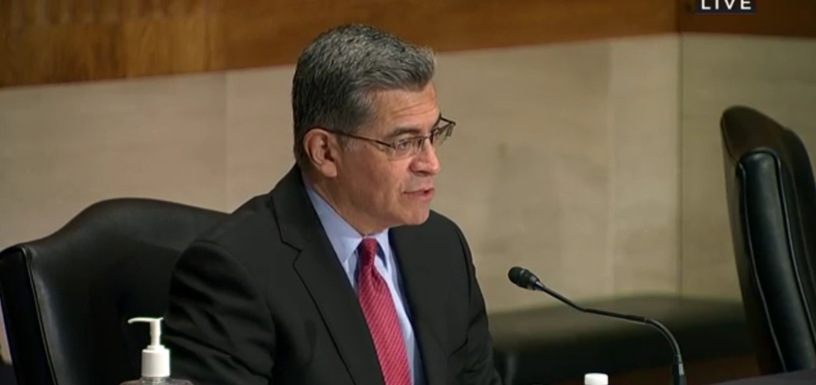 Becerra backs price transparency, provider competition at first Senate panel